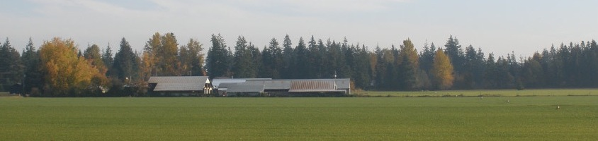 Scenic View of Viewfield Farms in Courtenay, BC